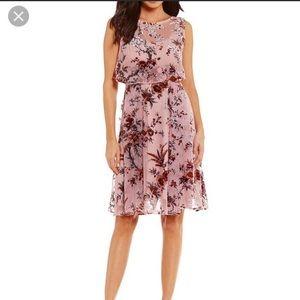 NEW NWT Eva Franco Floral Dress M